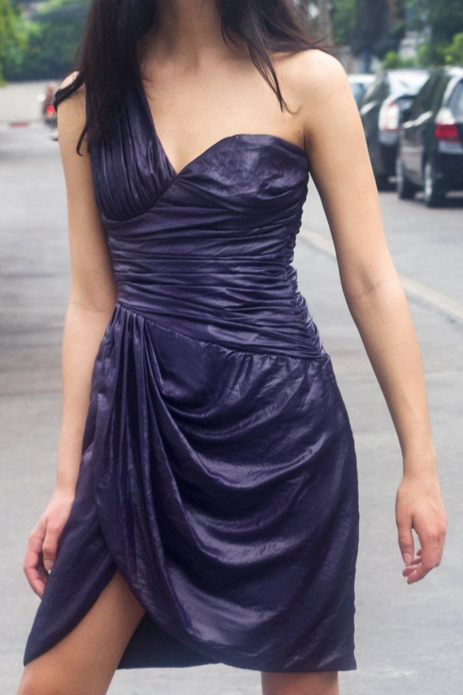 Glasswing Dress (Purple) - Lulu Be Mine