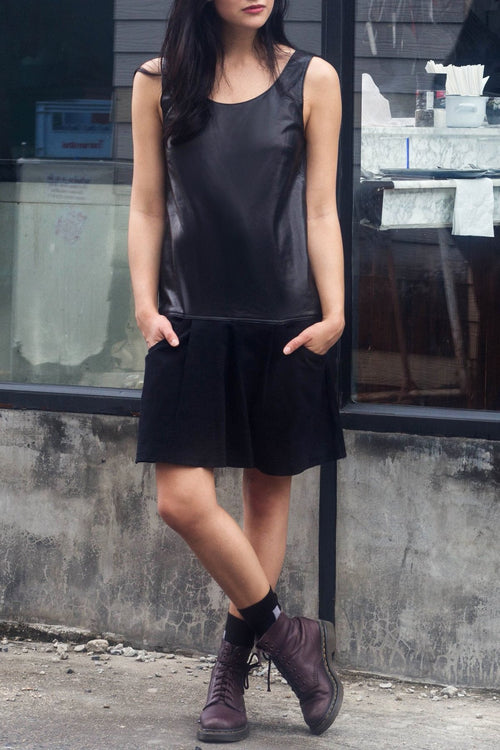 Richard Dress (Black) - Lulu Be Mine