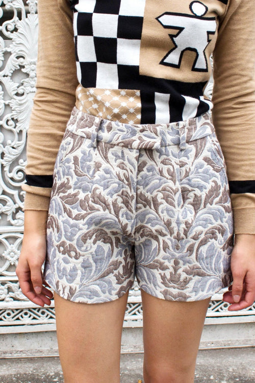 Rori Shorts (Beige) - Lulu Be Mine