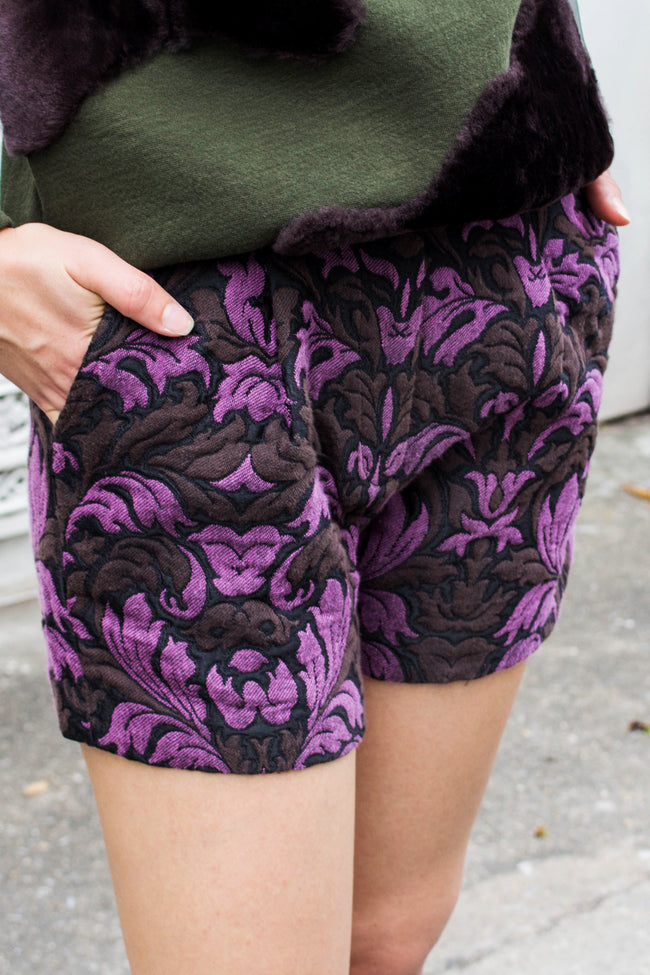 Rori Shorts (Purple) - Lulu Be Mine