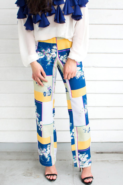 Floral Pants - Lulu Be Mine