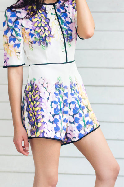 Savoy Playsuit - Lulu Be Mine