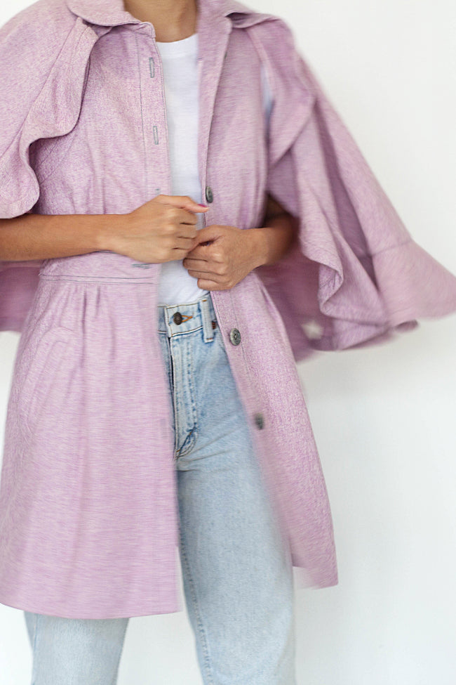 Windy Tweed Cape - Lulu Be Mine