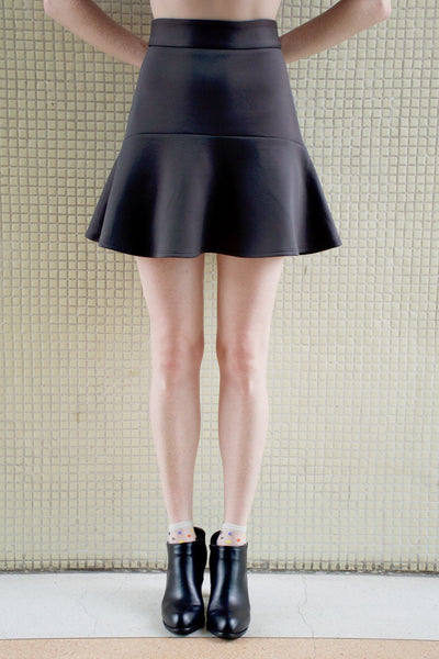 Flounce Mini Skirt - Lulu Be Mine