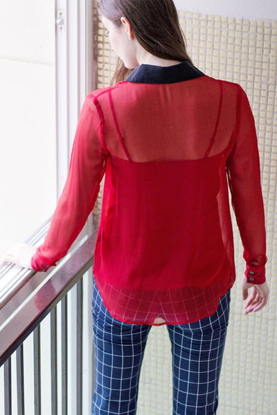 Catherine Top (Red) - Lulu Be Mine