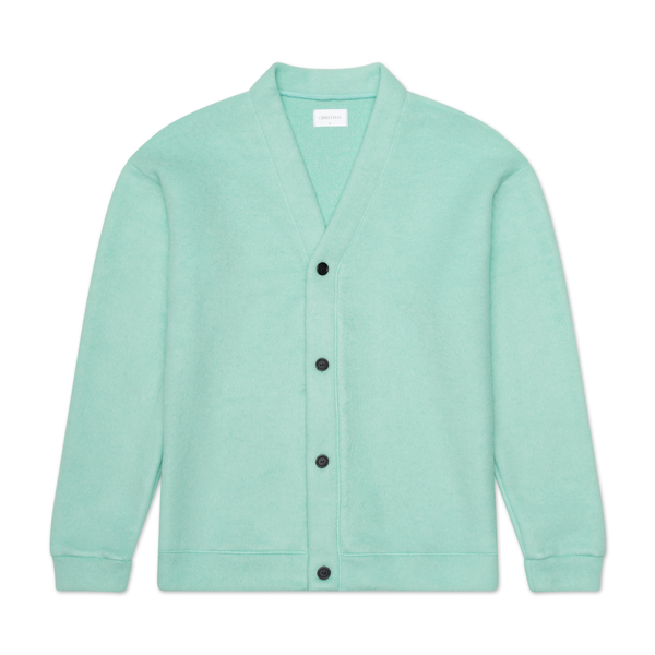 THE MOHAIR CARDIGAN - MINT