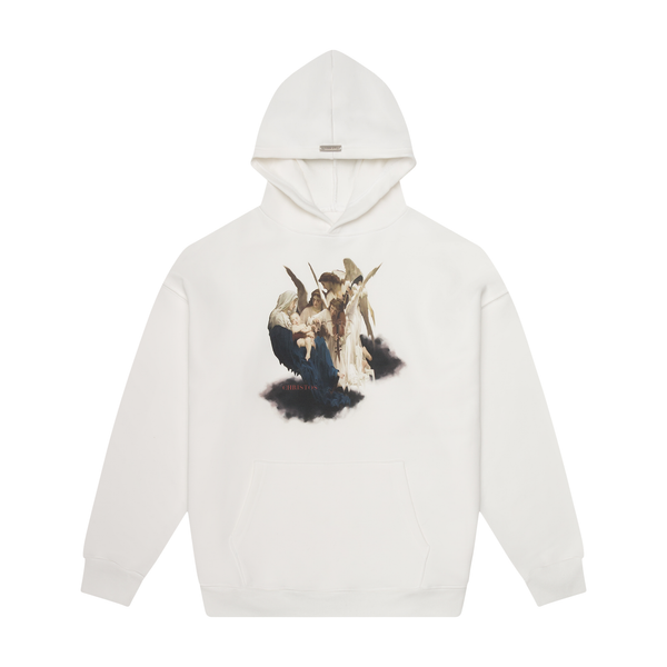 THE PSALM HOODIE - PEARL