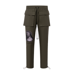 THE CHRISTOS TROUSER - OLIVE