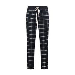 THE DINERO PLAID PANTS - BLACK/WHITE
