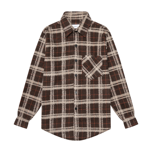 THE MOHAIR SHIRT - MOCHA