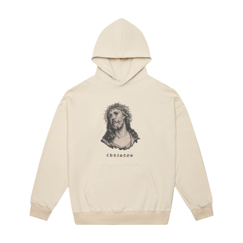 THE CHRISTOS HOODIE - NATURAL