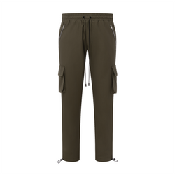 THE CARGO TROUSER - OLIVE