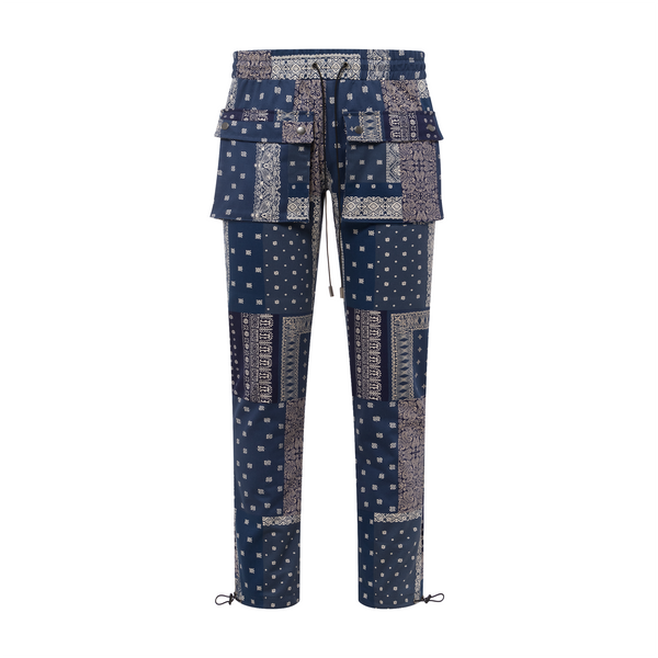 THE BANDANA TROUSER - PACIFIC