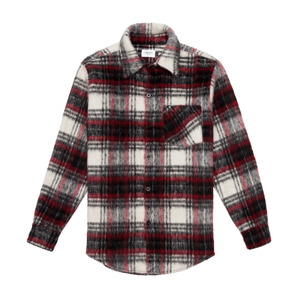THE MOHAIR SHIRT - REDWOOD