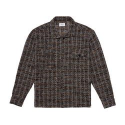 THE TWEED SHIRT - DUNE