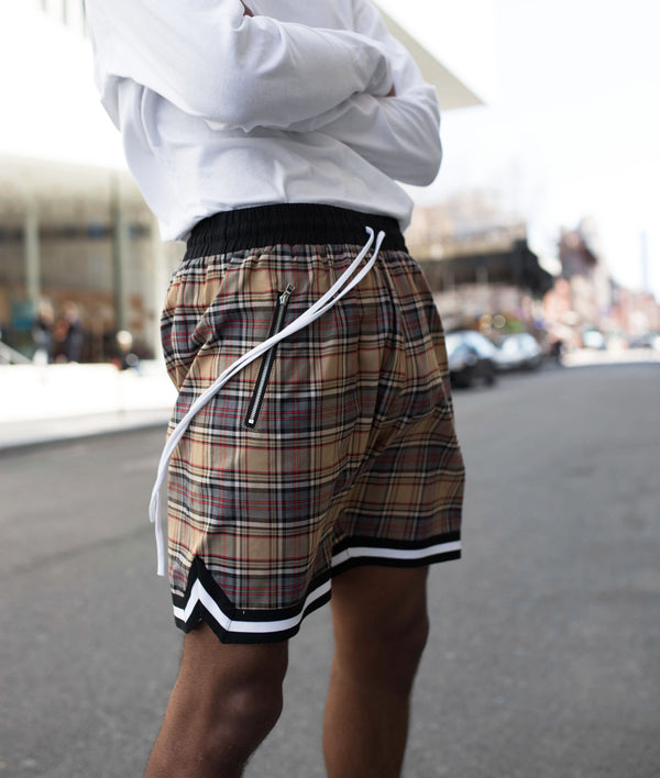 THE WEBSTER PLAID SHORTS