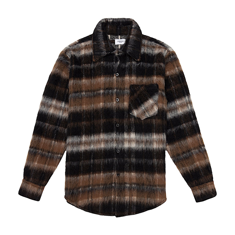 THE MOHAIR SHIRT - GRIZZLY