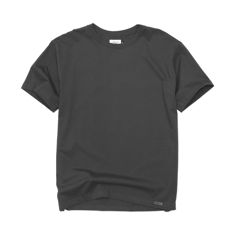 THE ESSENTIAL TEE - VINTAGE BLACK