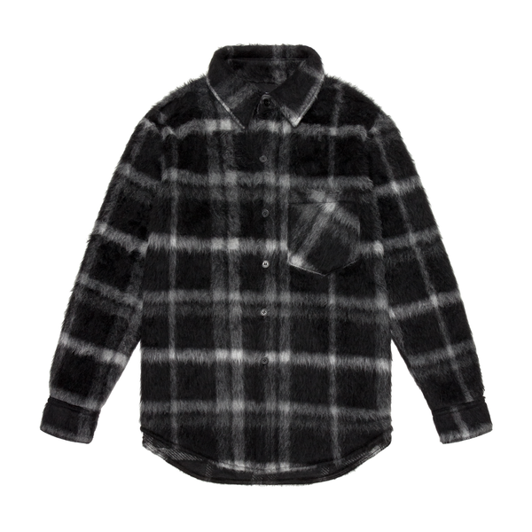 THE MOHAIR SHIRT - NOIR