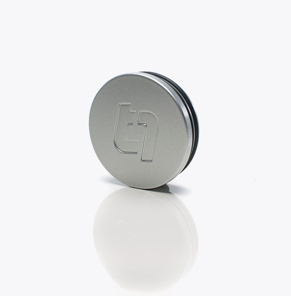 Titan 7 Center Cap - Iridium Silver