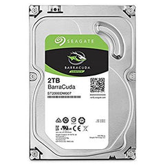 Seagate 2TB SATA3 - 7200 RPM - Barracuda Series