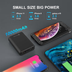 M1 10000 MAh Ultra-Compact dual port premium powerbank