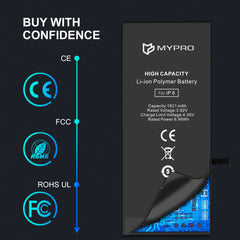 Mypro Premium Grade A+ Quality battery for iPhone
