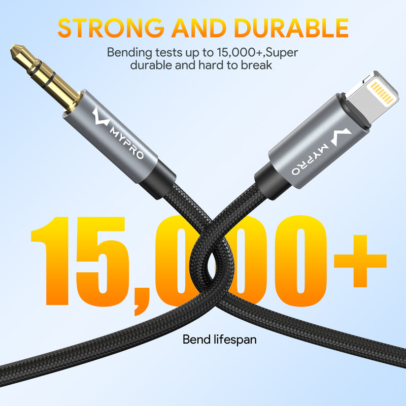 Lightning to 3.5 mm Cable