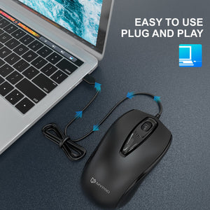 Mypro M130 Wired USB Mouse for Computers and Laptops