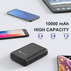M1R Pocket-Sized 2.1A Fast Charge 10000 mAh Powerbank