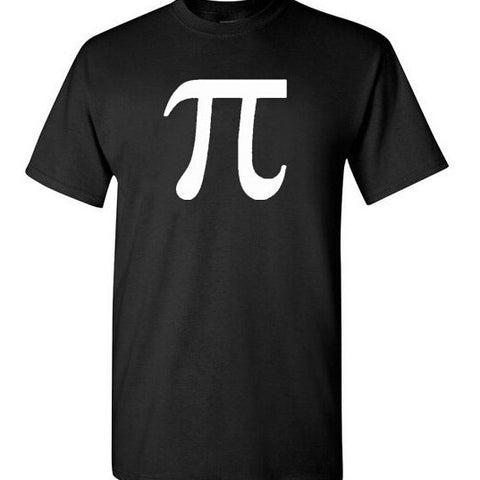 Classic Math Science Pi Letter T- Shirt