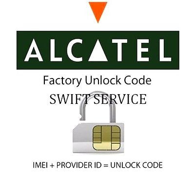 Alcatel Series Network Key / Unlock Code