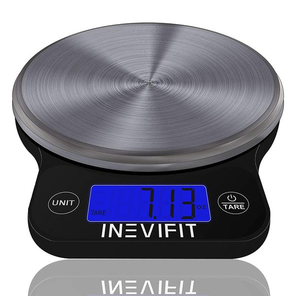 1000 by American Weigh Scales LB-1000 Compact Digital Scale with Removable Bowl
