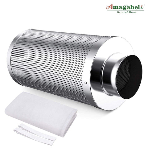 Amagabeli 4 Inch Best Carbon Air Filter Odor Growing Weed Carbon Grow