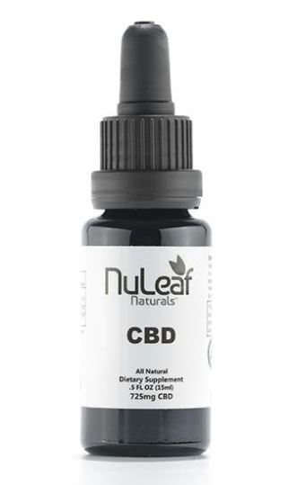 Best CBD Oil for Anxiety - NuLeaf Naturals