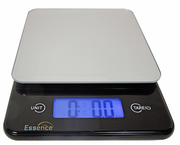 Best Digital Weed Scale - ESSENCE Digital Kitchen and Food Scale, Silver and Blue –