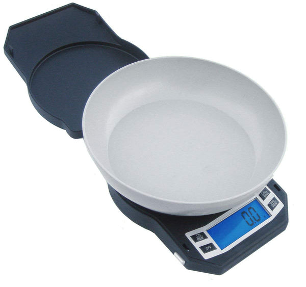 Best Digital Weed Scale - American Weigh Scales LB-1000 Compact Digital Scale with Removable Bowl