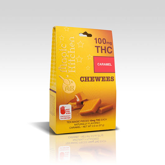 Magic Kitchen MK Chewees Caramel Indica - 10mg