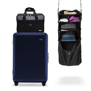 Suitcase, Riser, and Jumper set