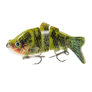 Jointed Lure with 6 sections