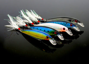 10pcs Minnow Fishing Lures
