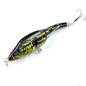 3D Eyed Jointed Crankbait