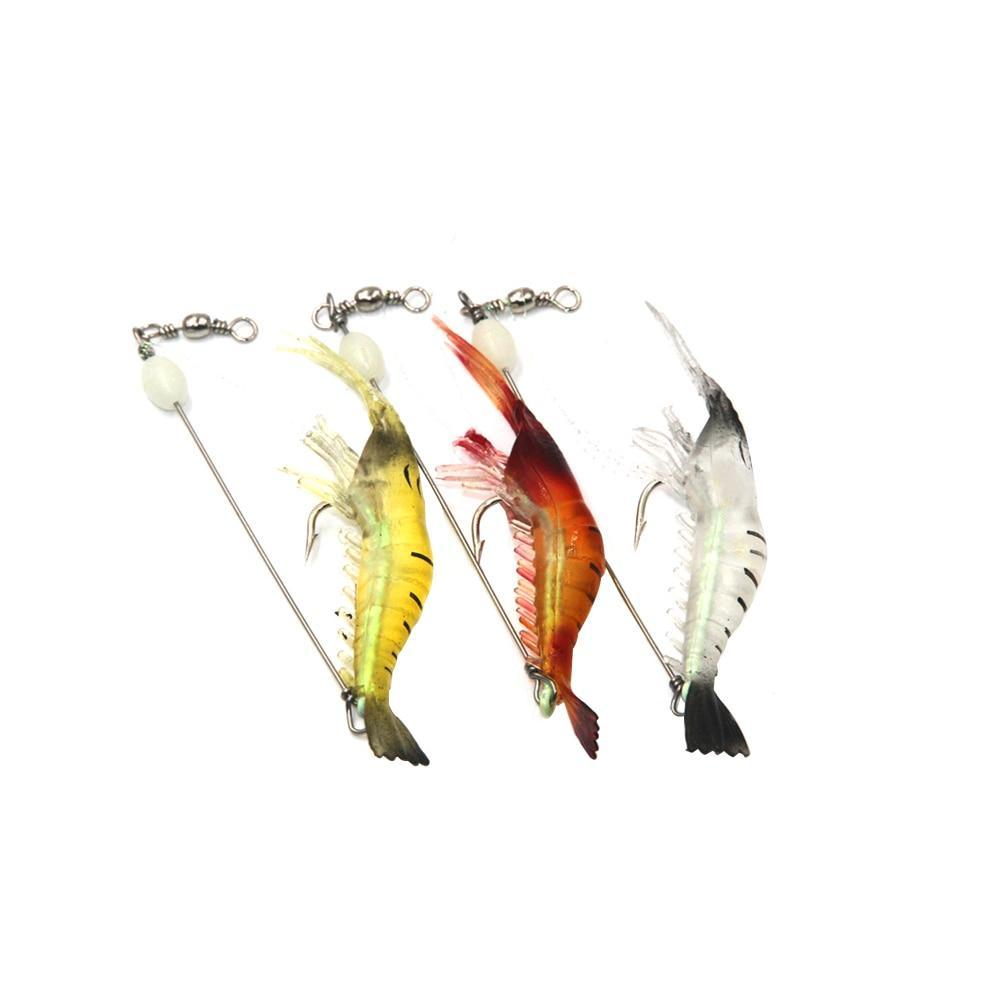 3x Lifelike Shrimp Lure
