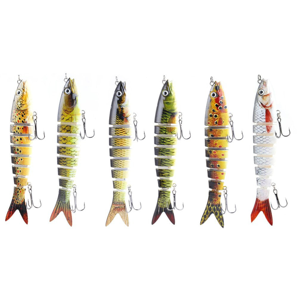 Lifelike 7 Jointed Pike Lure - 5.3 Inch