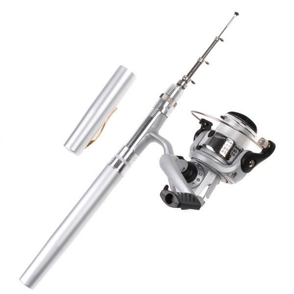 Mini Pen Fishing Rod With Casting Reel