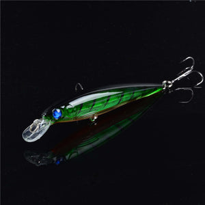 Floating Minnow Fishing Lure - 3D EYES