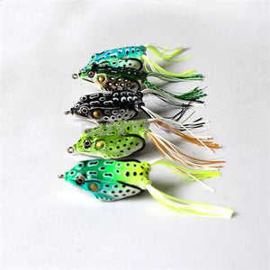 5 PCS Set Sneaky Frogs Lures