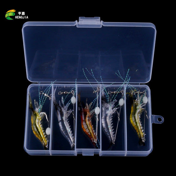 Grass Shrimp Soft Lures