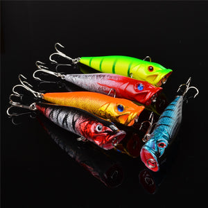 5 pcs Set Hard Wobbler Lure