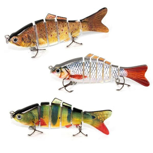 3x Lifelike Swimbaits (Special One Time Offer)